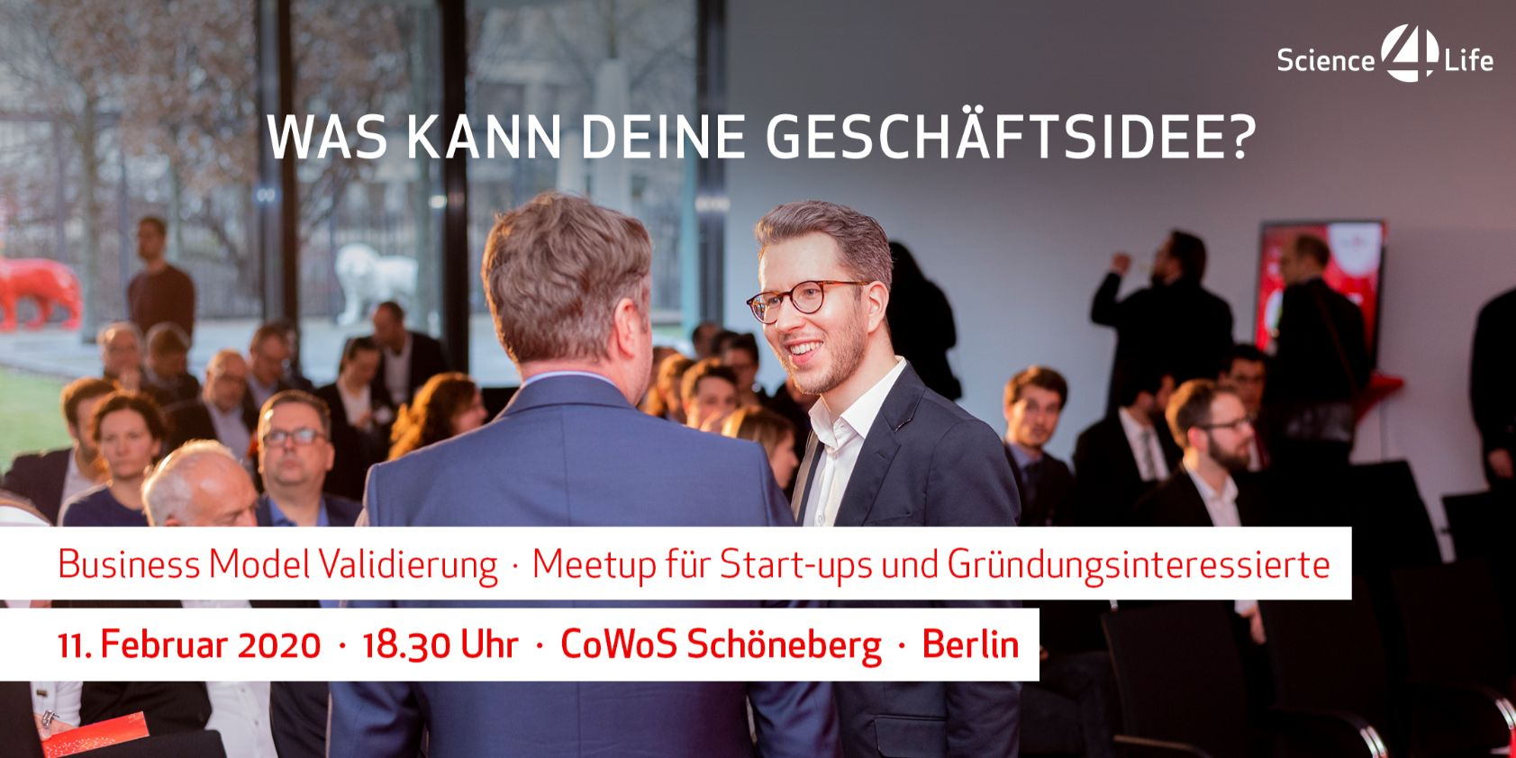 Science4Life E.V._Startup_Event