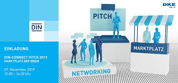 Start-up Pitches für Ideen mit Standardisierungspotenzial