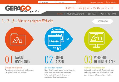 Gepago – digitalize your idea