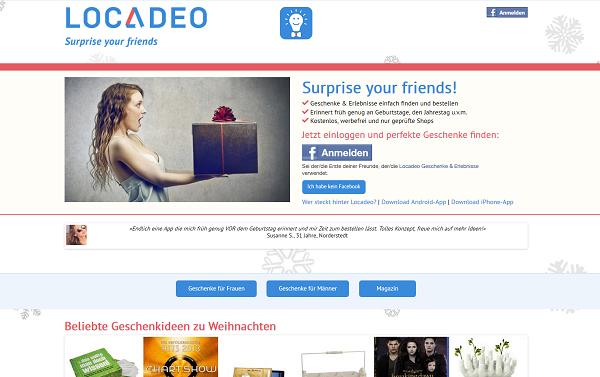Locadeo Web-App