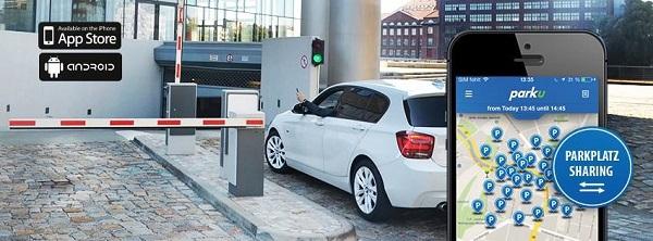 parku Parkplatz Sharing