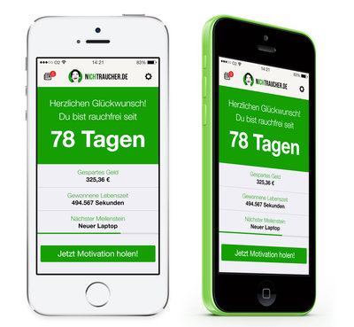 nichtraucher.de app