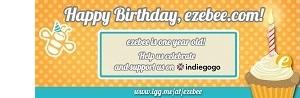 ezebee feiert Geburtstag