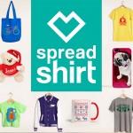 Spreadshirt: T-Shirts und mehr zu Weihnachten
