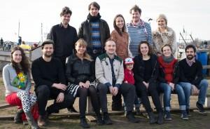 Das Team des transform Magazins. (Bildnachweis: Johanna Scheffel Photography)