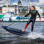 Lampuga - schneller Surfen mit Elektroantrieb