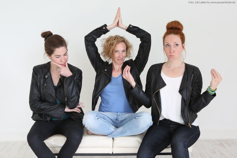 Pausenkicker – Trio für Geist, Stimme und Körper
