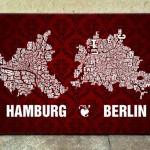 Buchstabenorte - wenn Stadtpläne zu Kunst werden