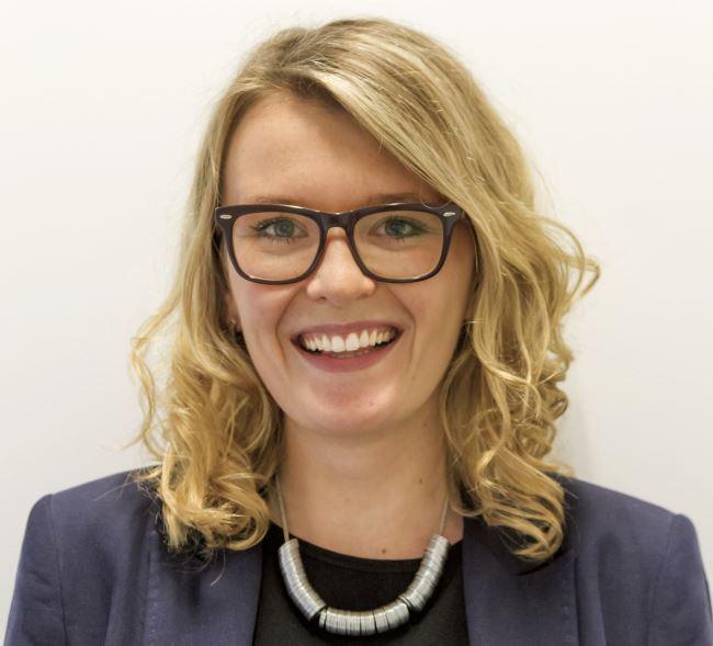 Marta Krupinska, Geschäftsführerin und Mitbegründerin von Azimo