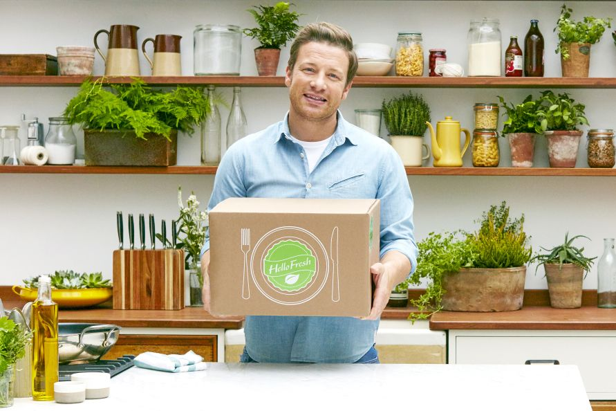 HelloFresh bringt Jamie Oliver in Deutschlands Küchen