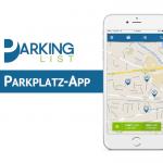 ParkingList: Parkplatzsuche leicht gemacht