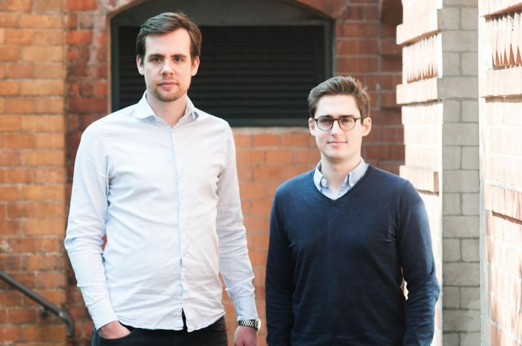 Gründer voya_Maximilian Lober und Florian Stege