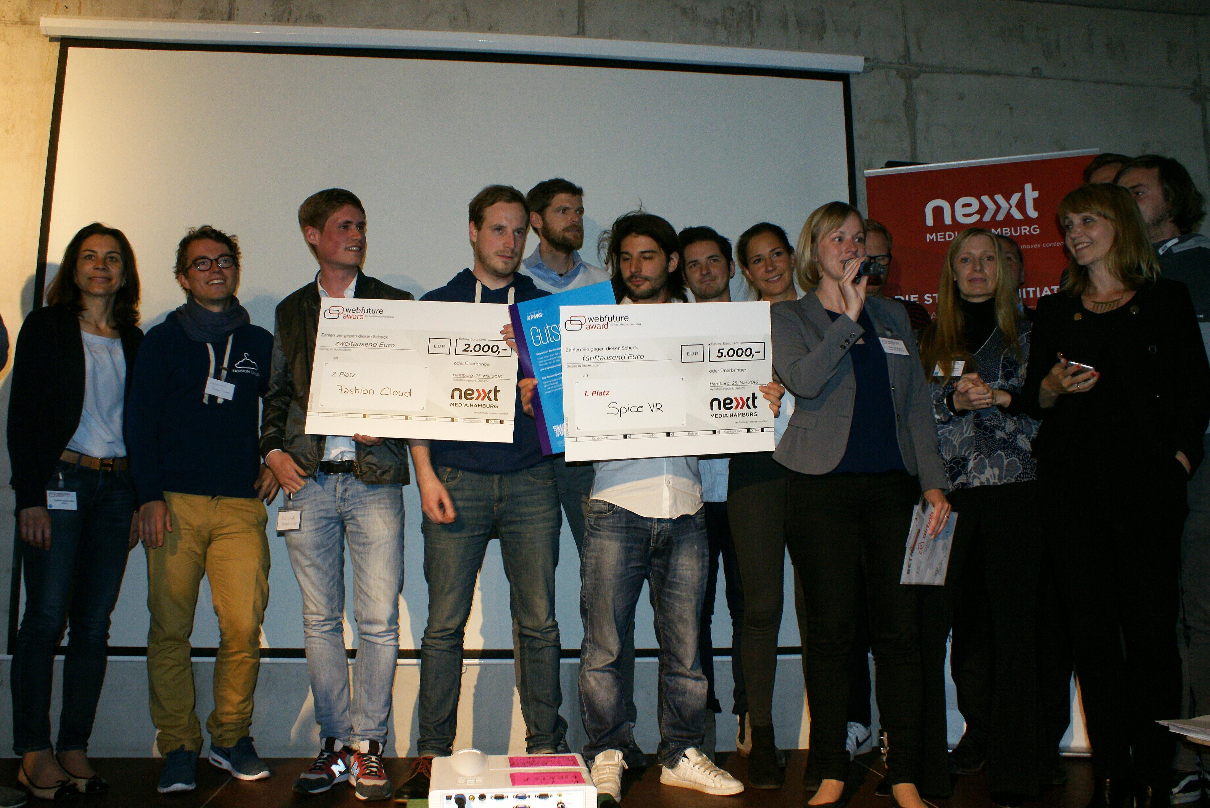 Webfuture Award Wettbewerb Event Veranstaltung