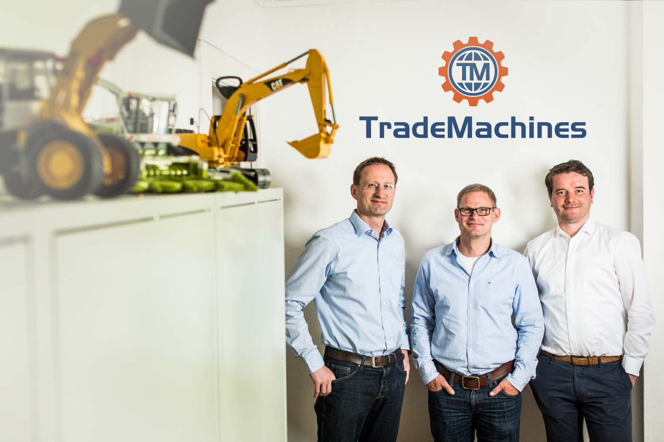TradeMachines Maschinen Verleih