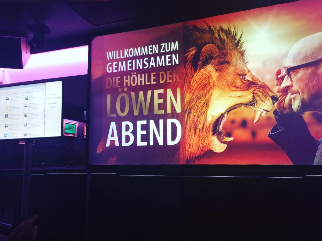 Jochen Schweizer, Höhle der Löwen Public Viewing
