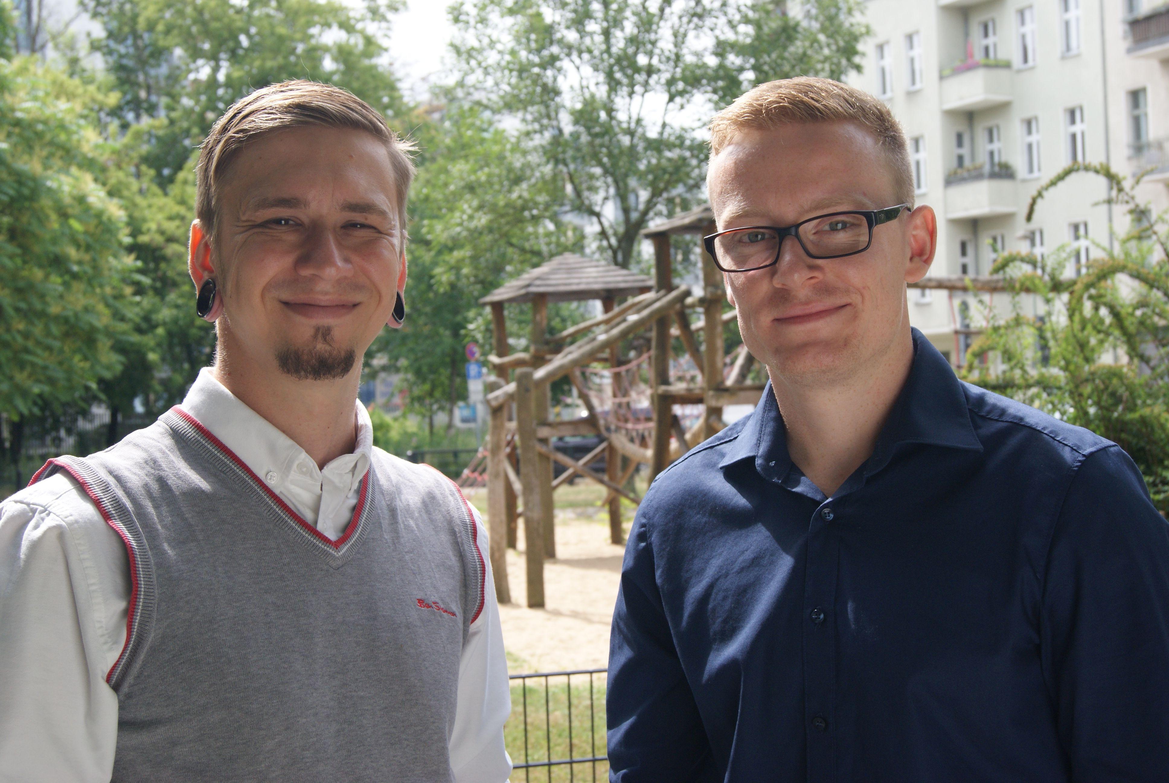 Sven Liebitz und Bastian Germanus sind die Gründer von GoodHands.