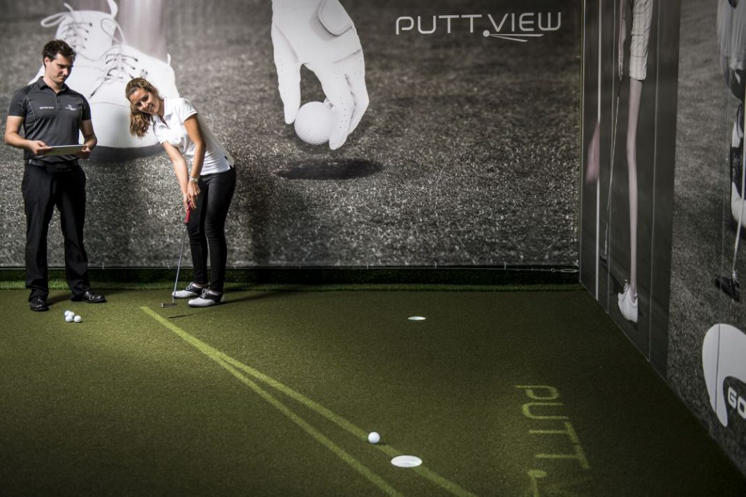 PuttView AR Augmented Reality Golf