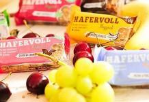 HAFERVOLL Start-up Unternehmen Food Hafer Riegel