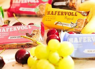 HAFERVOLL Start-up Unternehmen Food Hafer Riegel