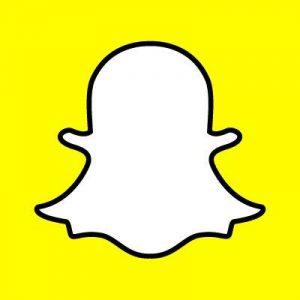 Snapchat Logo Foto Kommunikation