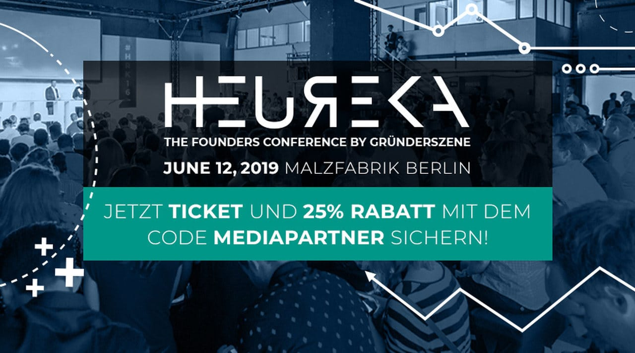 HEUREKA - The Startup and Tech Conference by Gründerszene 2019