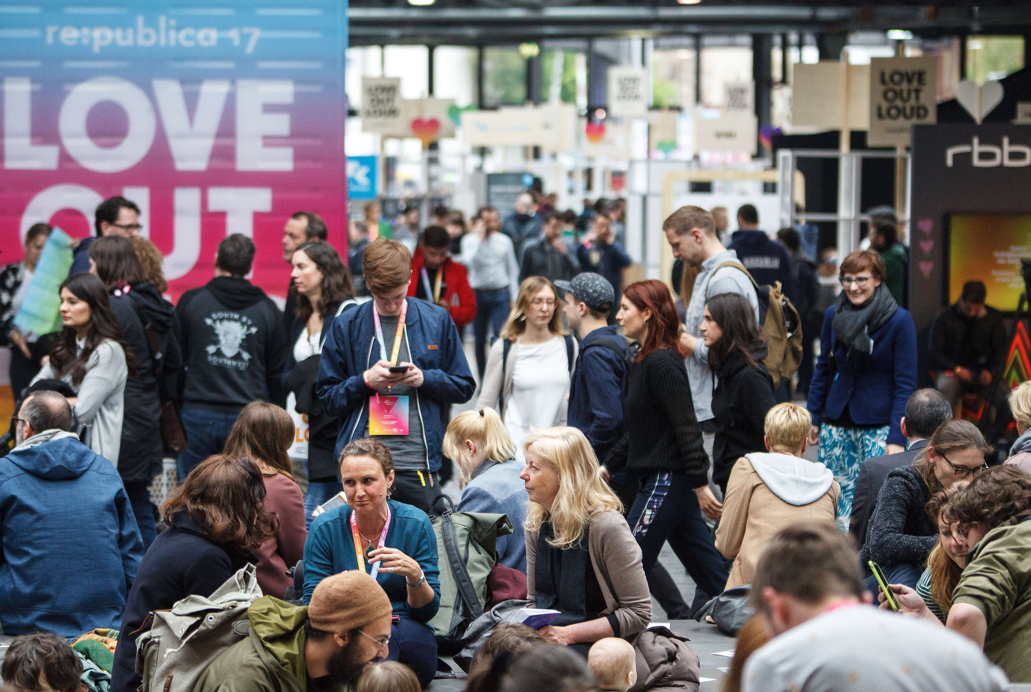 re:publica 2017: Love out Louder than Hate Speech