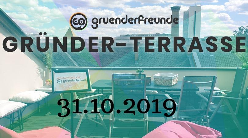 Gründer-Terrasse Oktober