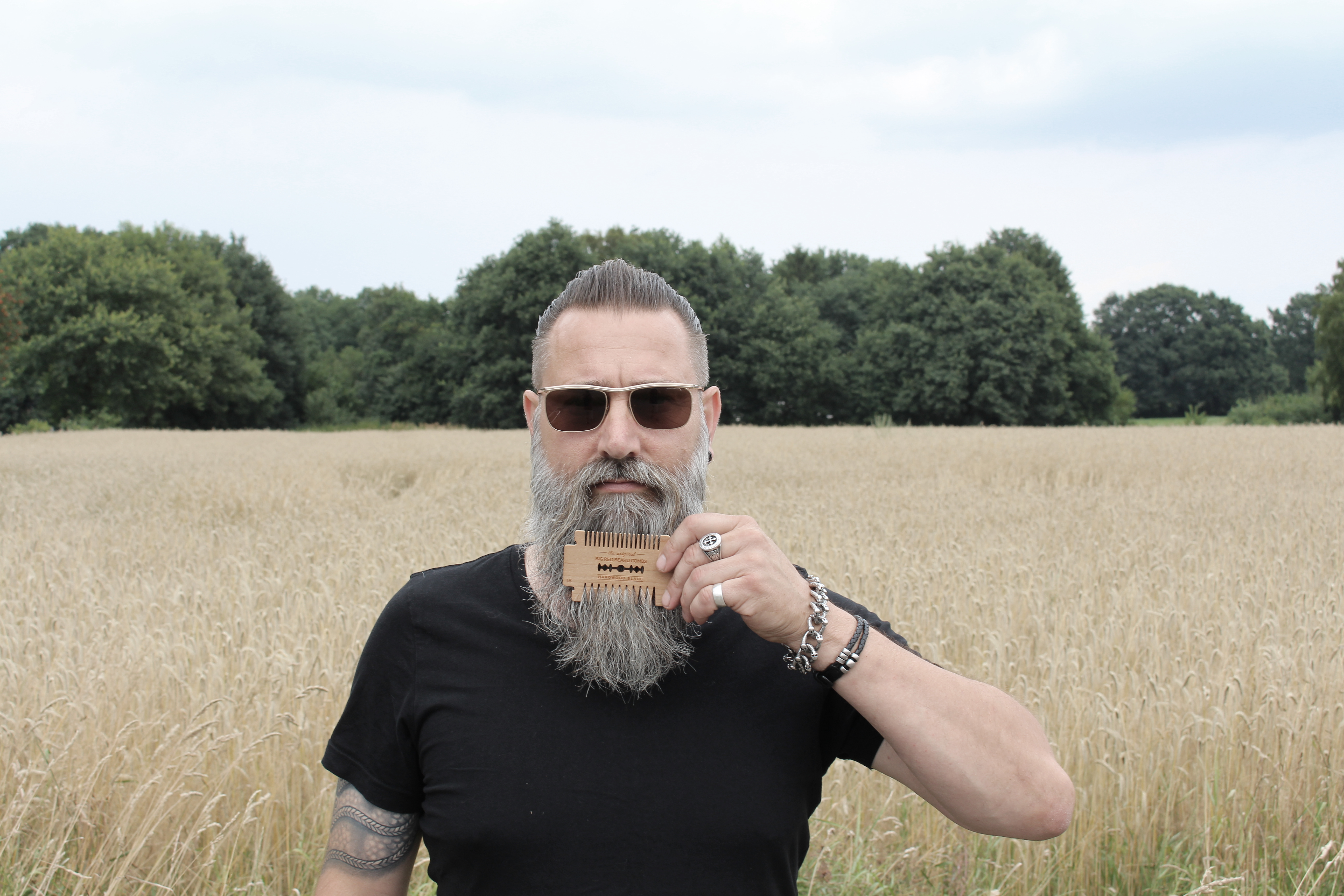 Beard & Shave Foto Bart Styling Gründer