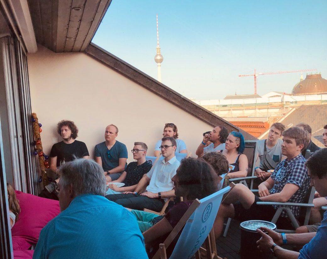 Recap Gründer-Terrasse 25. Juli 2019
