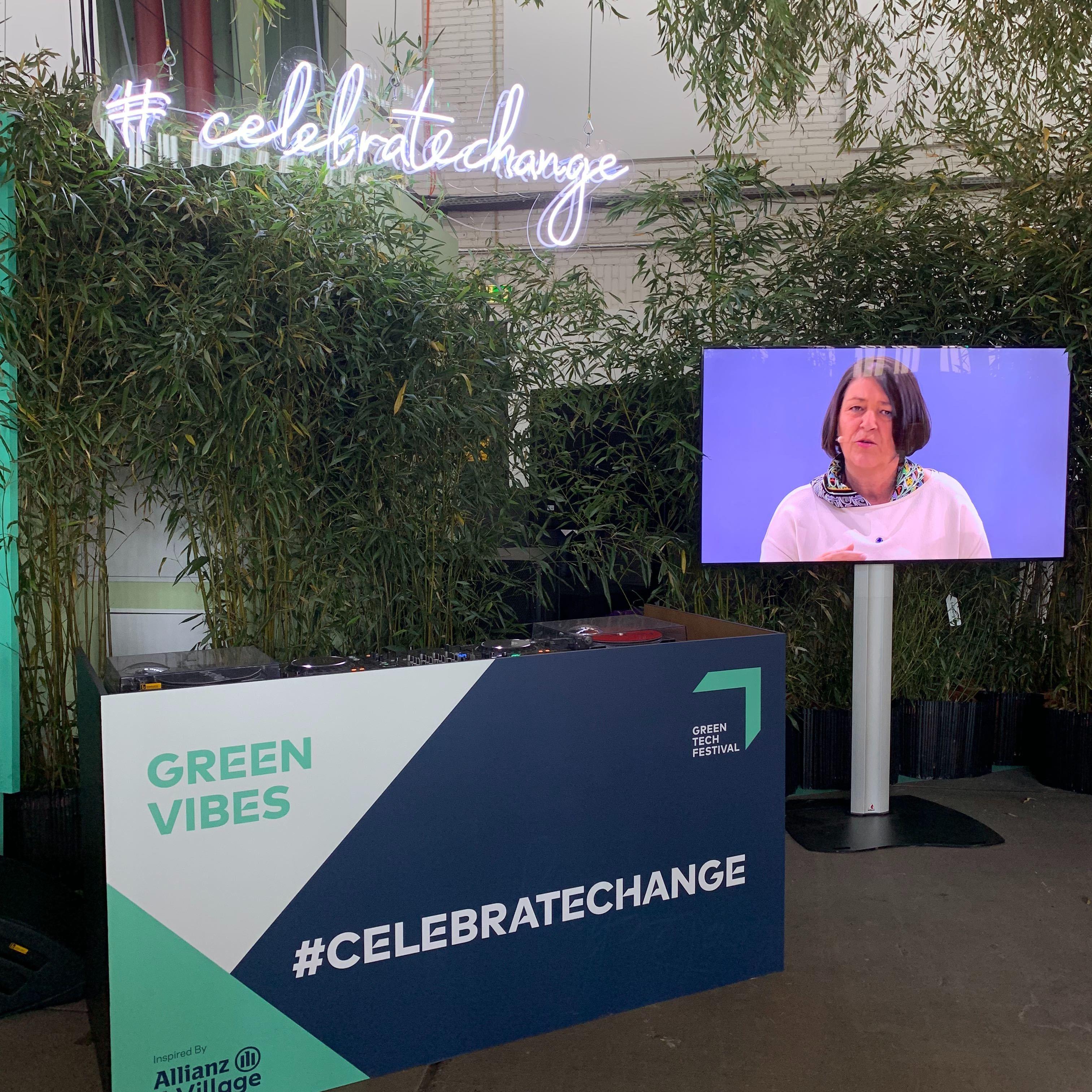Gelungener Auftakt zum Greentech Festival in Berlin