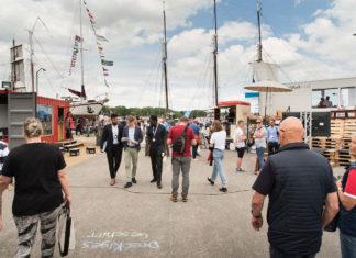 Menschenmenge Kieler Woche
