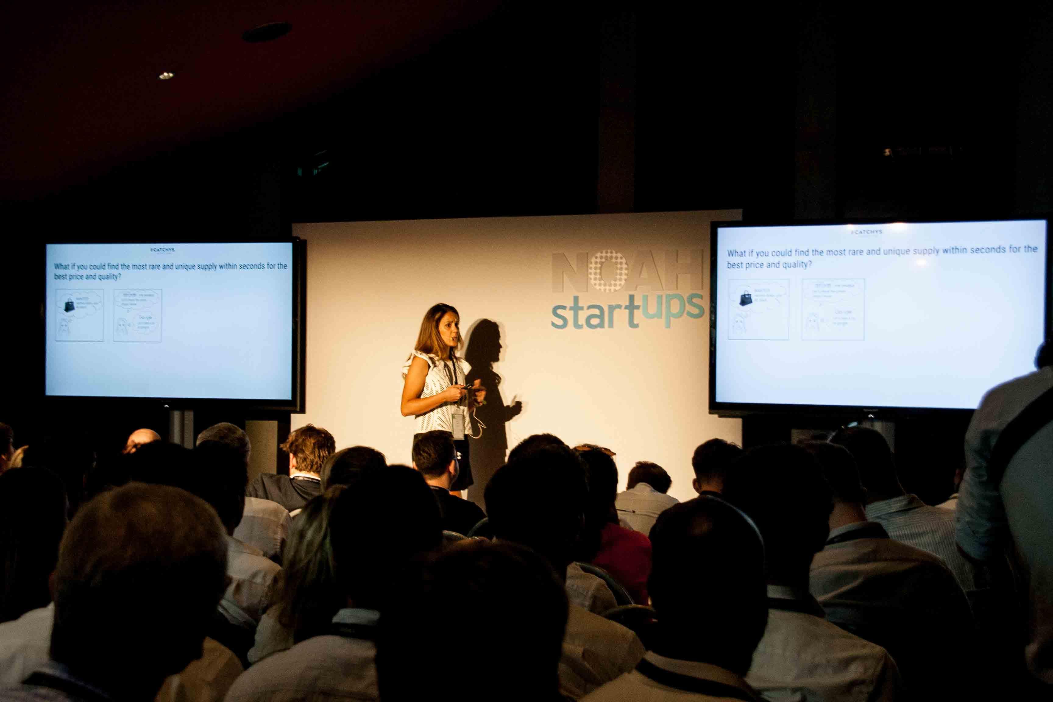 NOAH Start-Up Vortrag Event