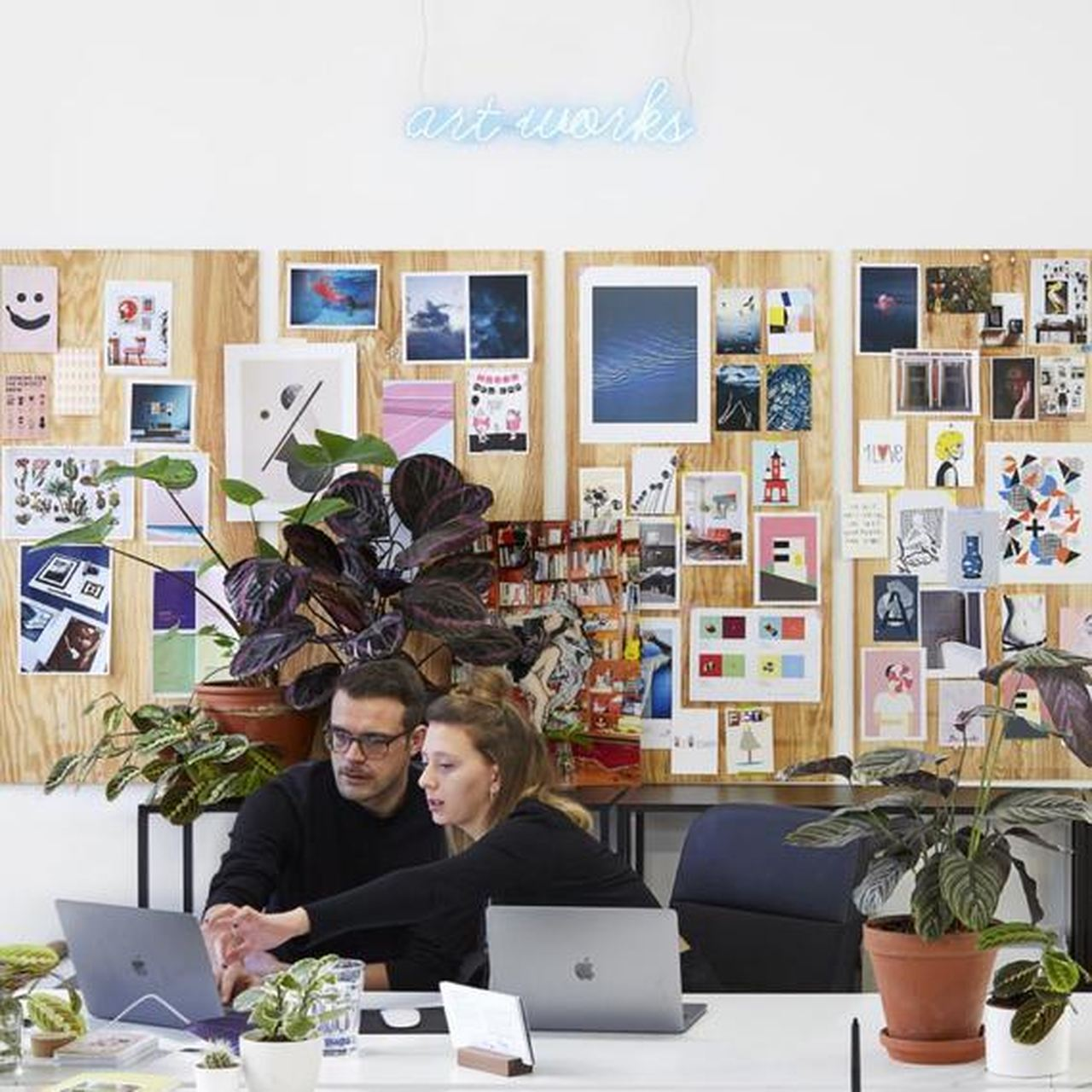 Büroarbeit bei Juniqe