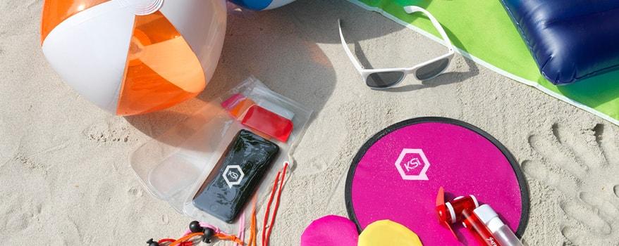 Strand Werbeartikel von KSI