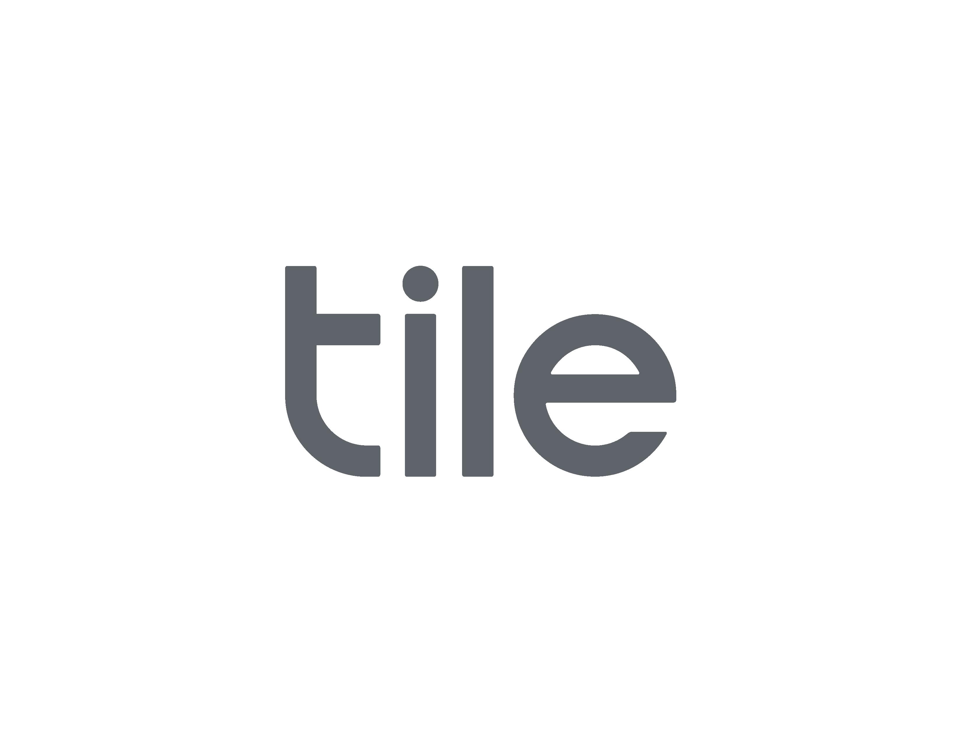 Tile Logo / Weißer Hintergrund