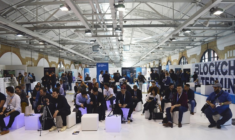 C3 Crypto Conference Networking Area Expo Stage