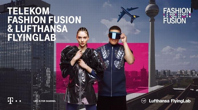 Telekom Fashion Fusion & Lufthansa FlyingLab: Das Flugerlebnis von morgen