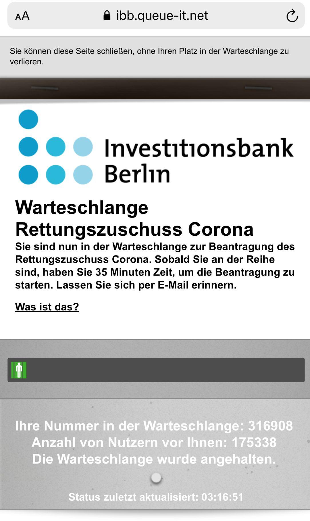 IBB Daten- und IT-Skandal bei Corona Zuschüssen für Startups und Selbstständige
