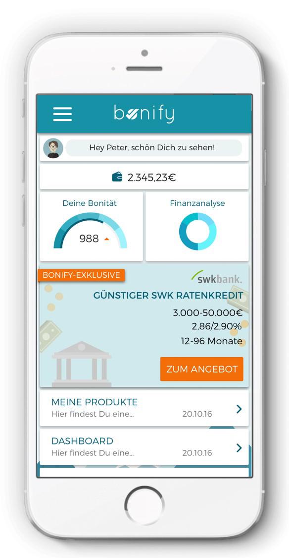 bonify Finanzen Fin-Tech