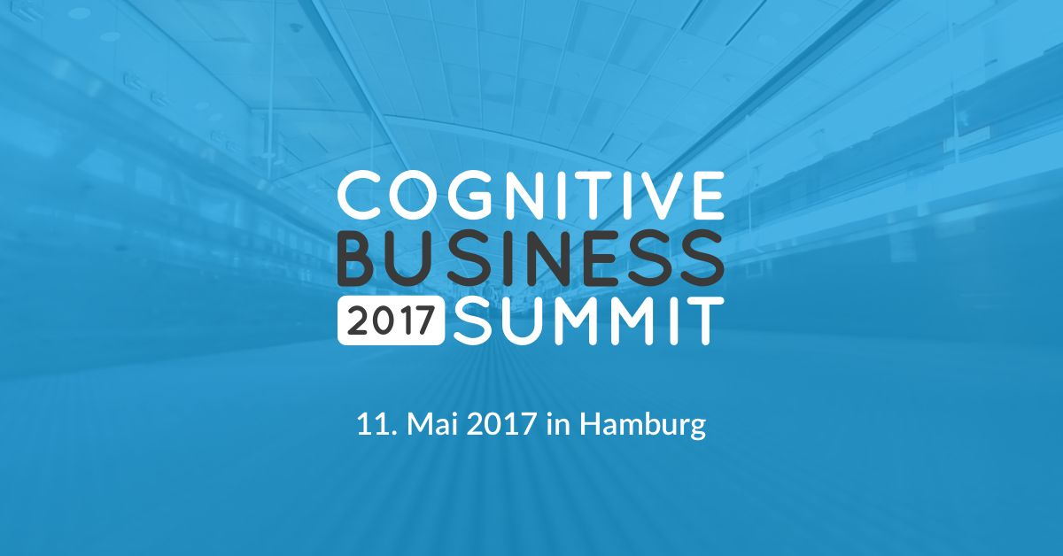 Tickets für den Cognitive Business Summit in Hamburg zu gewinnen!
