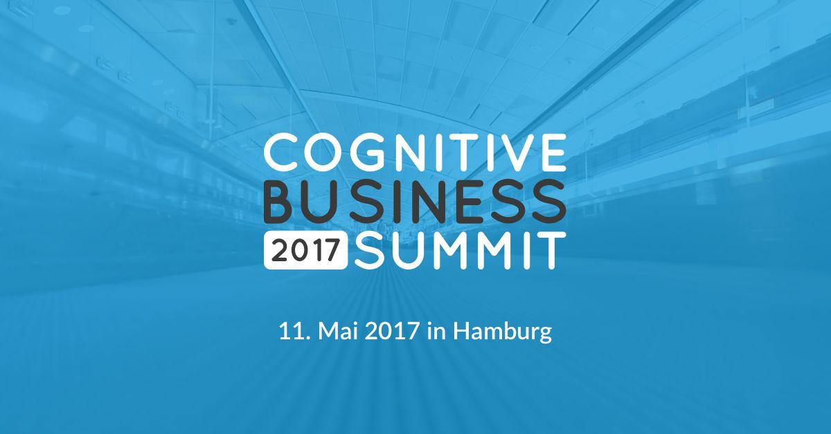 Tickets für den Cognitive Business Summit in Hamburg zu gewinnen!