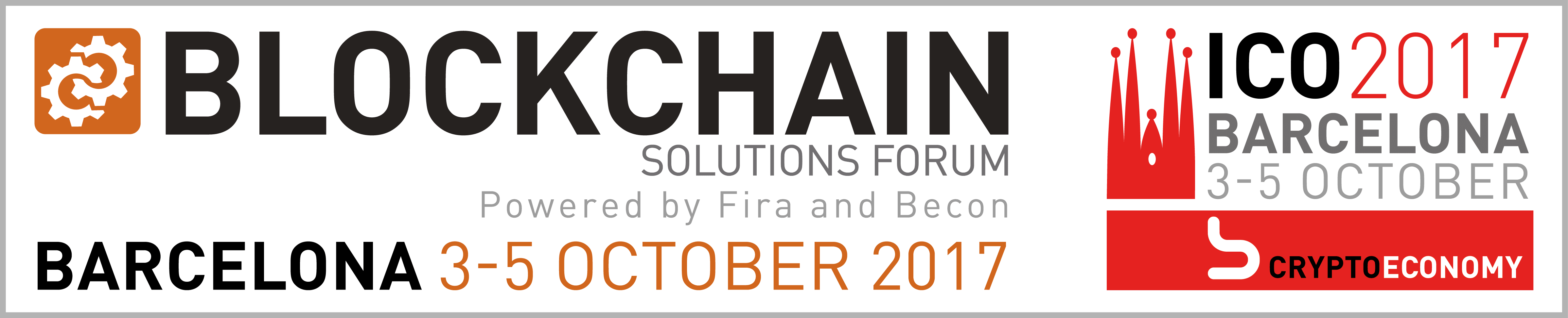 Blockchain Solution Forum Barcelona