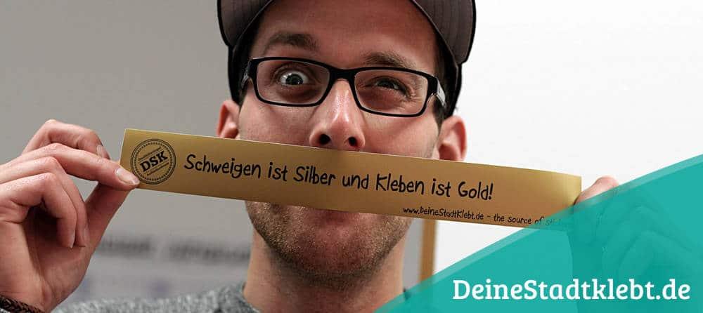 Innovatives Berliner Unternehmen: deinestadtklebt.de