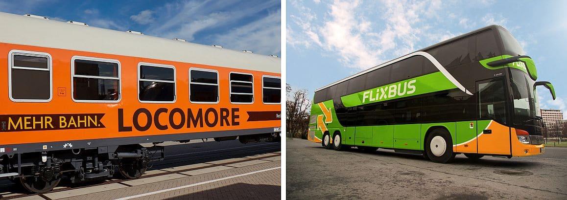 Presseschau: Locomore fährt jetzt mit Flixbus