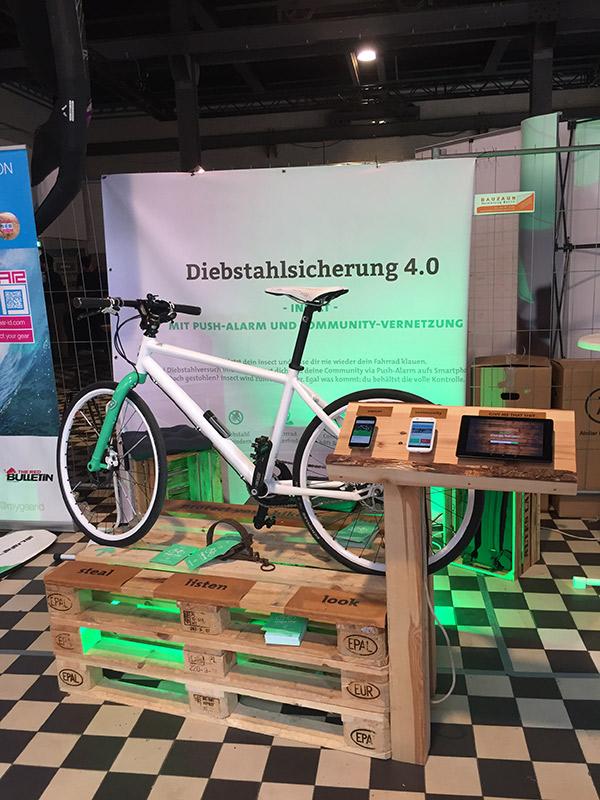 Fahrradjäger Diebstahlsicherung