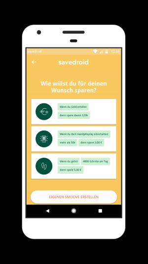Savedroid Anwendung Foto