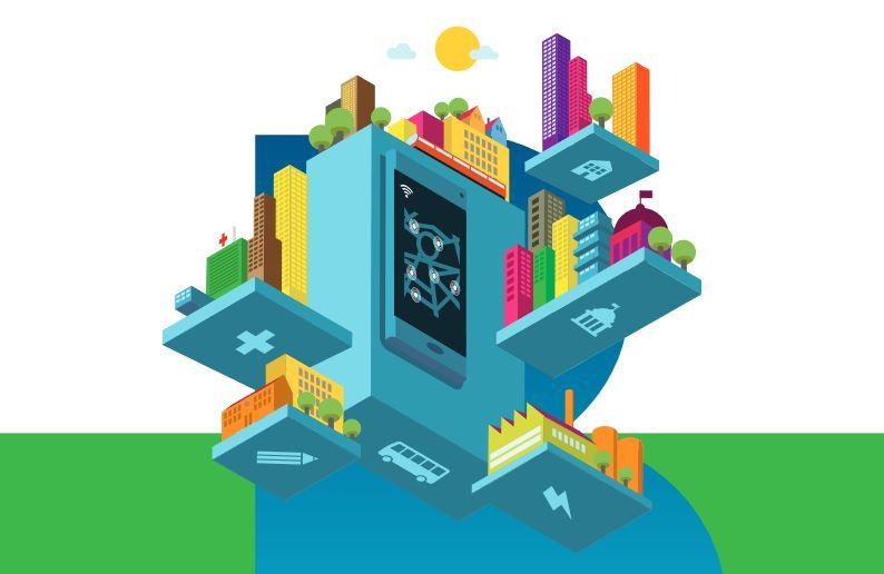 Energiesysteme Smart City Lebensraum Städte
