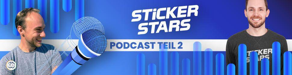 Stickerstars - das Startup mit Stickern für euer Unternehmen, Event, eure Hochzeit oder euren Verein - Podcast Teil 1