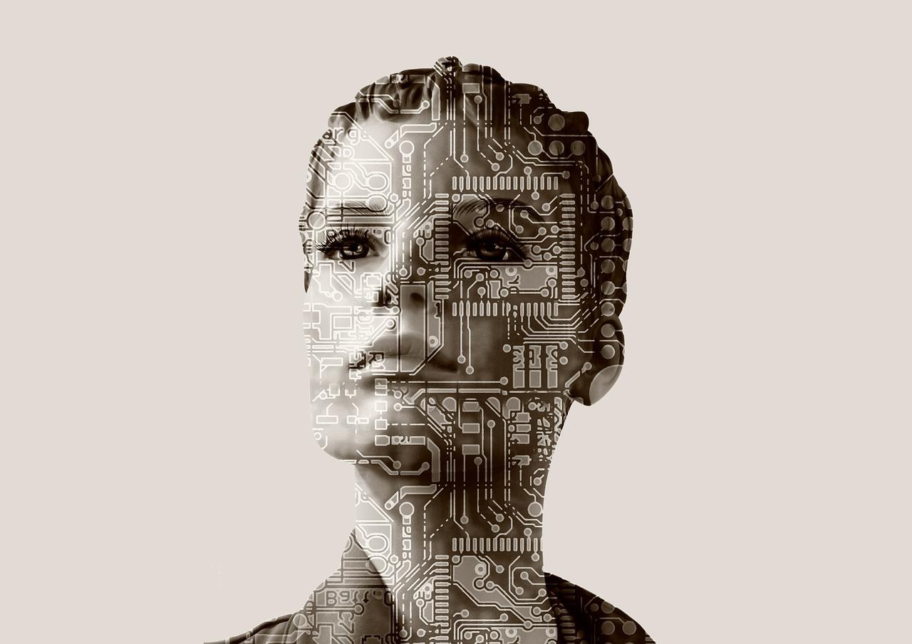 Eine Frau als Darstellung der Analyse eines CRM-Systems